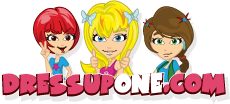 So if you would like to be a professional hair stylist, makeup artist, or beauty professional, then why not try the many different makeover online games for girls here at Dressupone.com.
